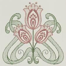 Art Deco Cross Stitch Charts Details About Art Deco Flower Counted Cross Stitch Chart 6 310 9