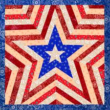 Patriotic Quilt Patterns Adorable One Star Patriotic Quilt Patterns Baby Quilt Decorative