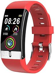 Nayble <b>E66 Fitness Tracker</b> for Body Temperature Blood Pressure ...
