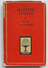selected essays by g k chesterton abebooks