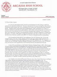 Sample Recommendation Letter For Student From Teacher 100