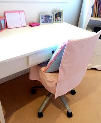 how to make a chair cover for a shabby old desk chair
