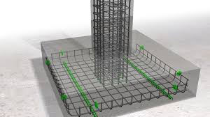 Steel Column Foundation Design Design Of Column And Footing Placing Of Reinforcement In Columns And Footings
