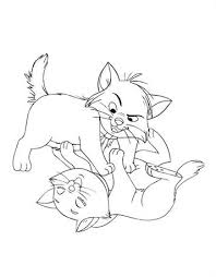 Kids N Funcom 9 Coloring Pages Of Aristocats
