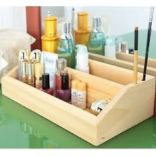 makeup organizer wood. image is loading made-in-korea-pine-solid-wood-2-layer- makeup organizer wood e