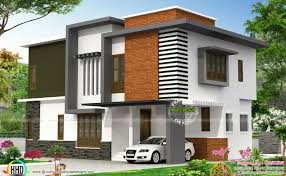 Small Picture Contemporary house with brick show wall Kerala home design and