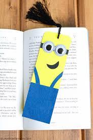 diy minion bookmark tutorial