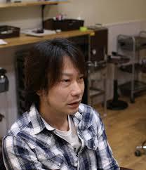 サイドがふくらむ方をカットで悩みを解決した例 茨城県北茨城市の男性