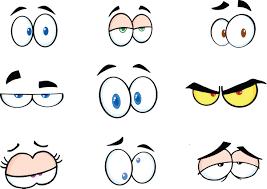funny cartoon eyes clipart free clipart