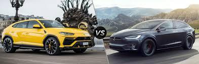 It's missing the personality and. 2018 Lamborghini Urus Vs 2018 Tesla Model X