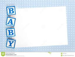 Boy Baby Shower Blank Templates