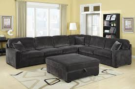 Traditional Sectional Sofas Living Room Furniture Traditional Living Room With Oversized Charcoal Luca Sectional