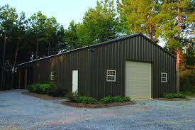 burnished slate 30 x 40 pole barn metal building