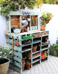 outdoor plant table pallet garden pallet ideas outdoor timber plant stand