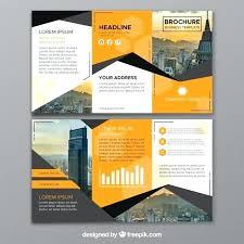 3 Fold Brochure Design Free Download Gulflifa Co