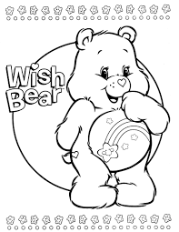 Small Picture care bears coloring page COLORING PAGES Pinterest Care bears