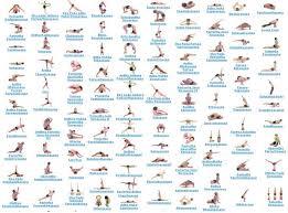 Basic Yoga Poses Chart Free Yoga Poses Download Free Clip Art Free Clip Art On