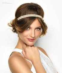 20s Hair Style updo with a thin 20s style hairband 4193 by wearticles.com