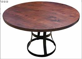 awesome reclaimed wood round dining table dining room the wood round dining table new reclaimed wood
