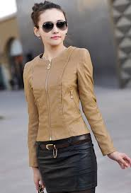 2016 spring women s leather clothing