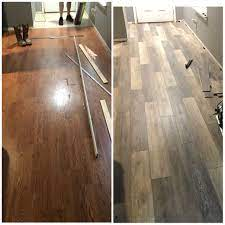 Cut the planks as needed to fit the space. Smartcore Ultra Vinyl Flooring Before And After Color Woodford Oak Vinyl Flooring Flooring Floor Colors