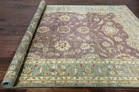 9x12 rug pads round rug pad large size of 8 foot purple oriental x handmade wool