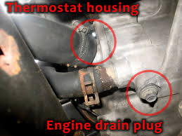 replacing engine coolant temperature sensor ects 1998 saturn thermostat and drain plug
