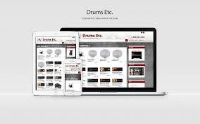 Schweb Design Drums Etc Website Design Lancaster Pa Schweb Design Llc