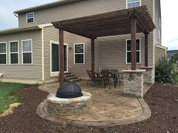 covered stamped concrete patio. Small Stamped Concrete Patio Images Covered Stamped Concrete Patio O