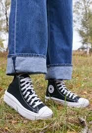 Converse CHUCK TAYLOR ALL STAR MOVE - Zapatillas altas - black/natural  ivory/white/negro - Zalando.es