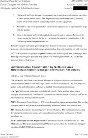 Patient Transport And Medical Evacuation Procedures Pdf