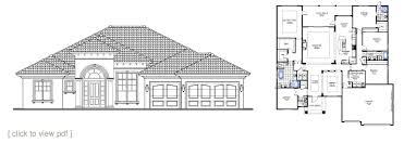 Semi-custom Home Floor Plans   North Florida Home Builders ...