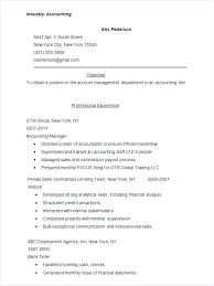 Sample Resume Account Executive Accounts Resume Sample Accounting Resume Sample Free Tally Resume