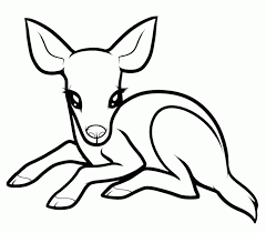 Small Picture Baby Deer Coloring Page Coloring Home