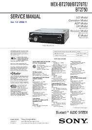 sony mex bt2700 bt2707e bt2750 service manual free download Sony Mex Bt2700 Wiring Diagram sony mex bt2700 bt2707e bt2750 service manual (1st page) sony mex-bt2700 wiring diagram