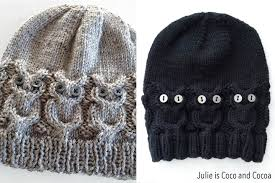 Free Knit Patterns Unique Owl Hat Knit Pattern Julie Measures