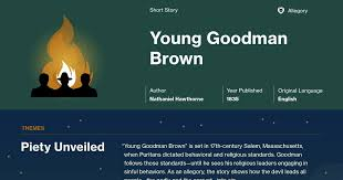 young goodman brown documents course hero