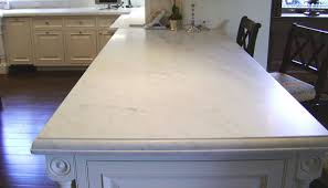 marble countertop with custom edge