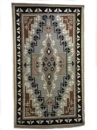 Navajo rug designs two grey hills Native American Two Grey Hills Navajo Weaving Nizhoni Ranch Gallery Two Grey Hills Navajo Weaving Handwoven With 100 Wool