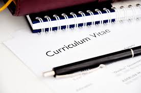 writing of cv tk category curriculum vitae