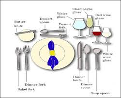 formal dinner place setting diagram. formal place setting arrangements dinner diagram g