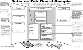 Science Fair Display Board Sample Science Fair Science Fair