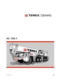Terex Demag Ac 160 1 Specifications Cranemarket