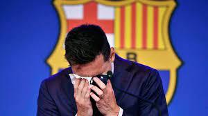 Messi's tearful departure encapsulates ...