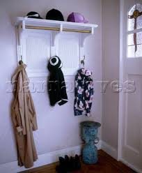 Traditional Coat Rack Simple AC3232 Traditional Hallway Detail With Coat Rack An Narratives