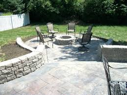 fascinating how to build a raised patio on concrete patios with retaining walls