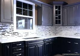 with white quartz kitchen granite particle board ideas for marble black backsplash cabinets countertops gray mosaic