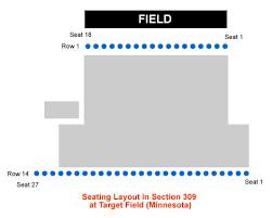 Printable Target Field Seating Chart Minnesota Twins Target Field Seating Chart Interactive Map
