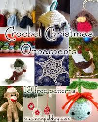 Free Crochet Christmas Ornament Patterns Interesting 48 Free Crochet Christmas Ornament Patterns