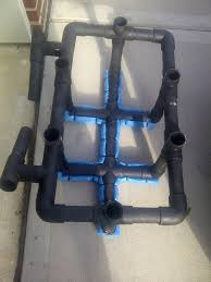 these instructions will help you build this rack it can hold up to 6 rods accessories and also has two trolling positions perfect for my seadoo which